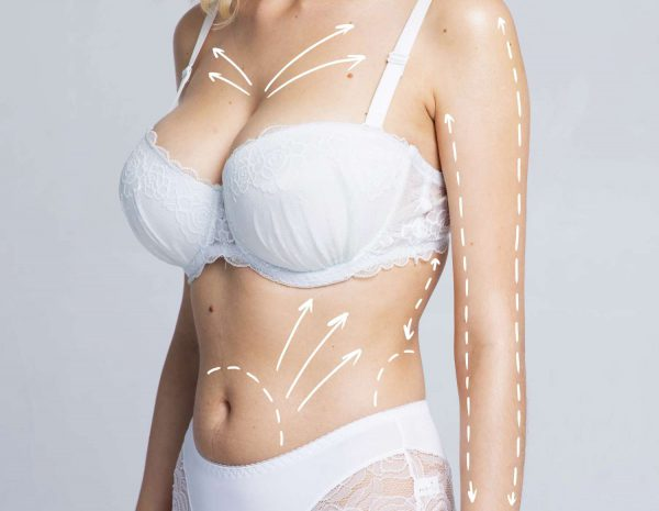 The massage after the breast augmentation procedure