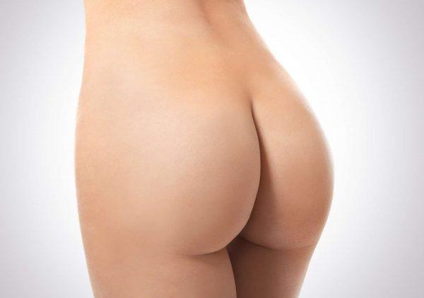 The v shaped buttock